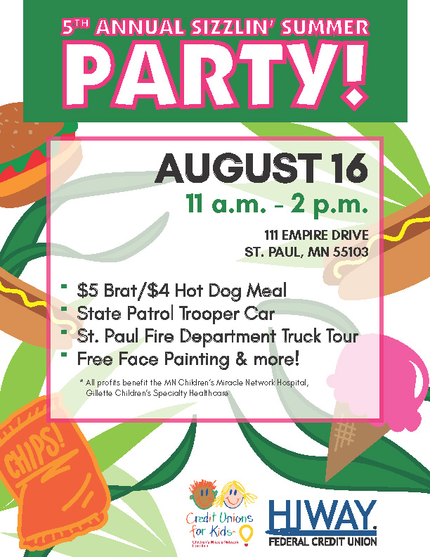 5th Annual Sizzlin' Summer Party